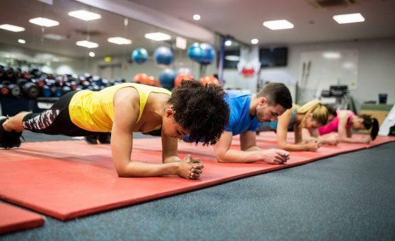 Featured gym in Las Vegas: EŌS Fitness Las Vegas Northwest training area