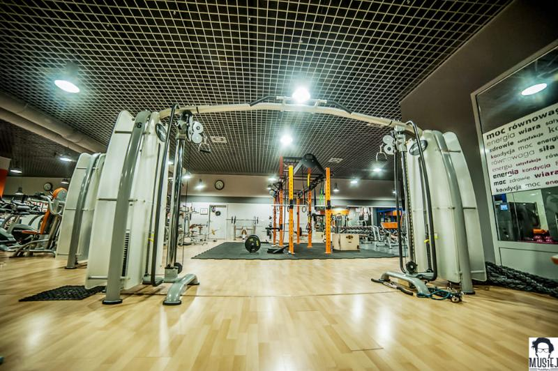 Featured gym in Warsaw: Total Fitness Ursynów interior