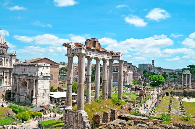 Snapshot of Roman Forum