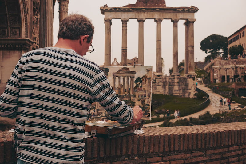 Picture of Roman Forum