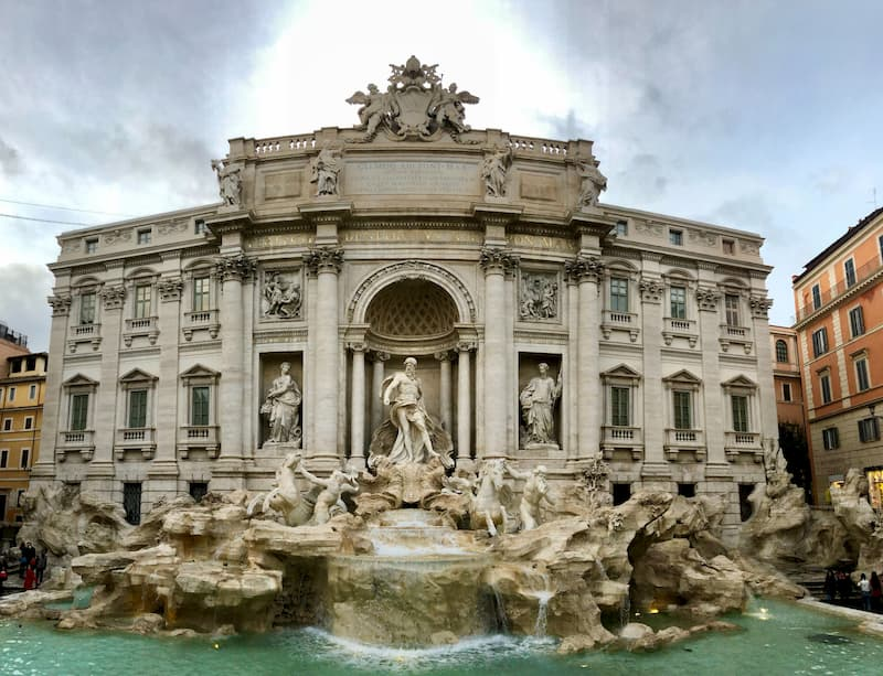 Snapshot of Trevi Fountain