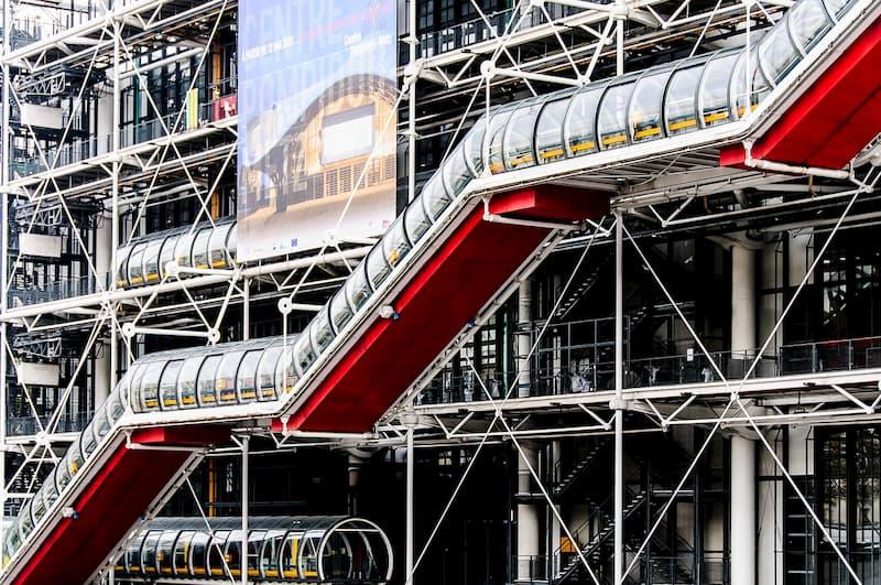 Snapshot of Pompidou Center