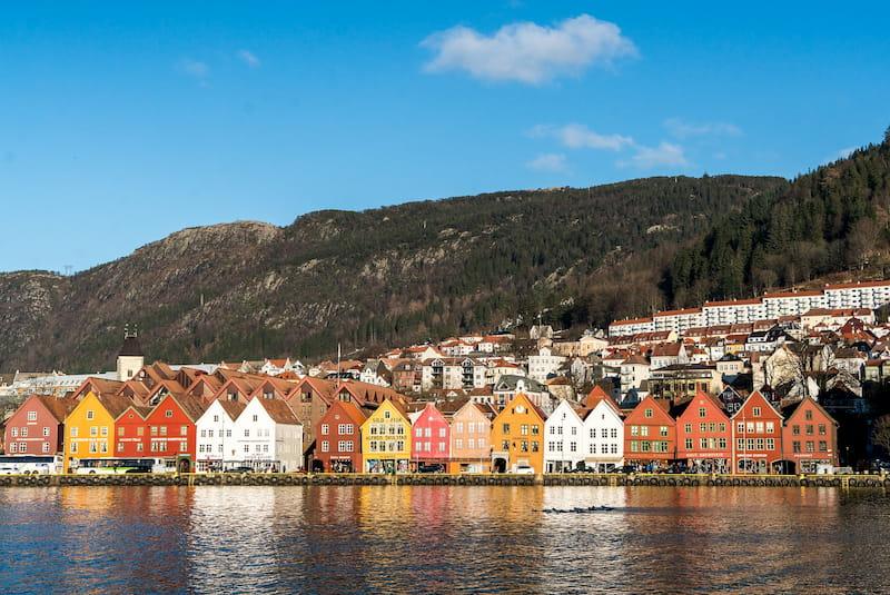 Scene from Bergen