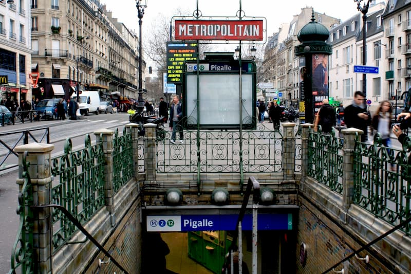 Scene from Place Pigalle