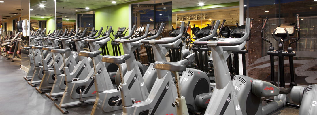 Steve Nash Fitness World - Cambie training area