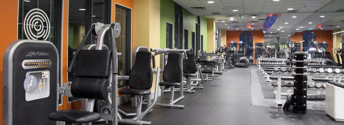 Steve Nash Fitness World - Cambie facilties