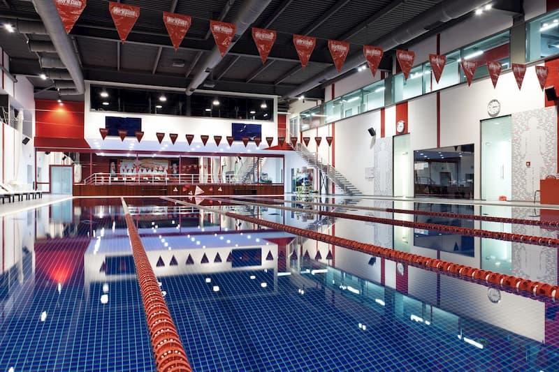 World Class Almaty training area