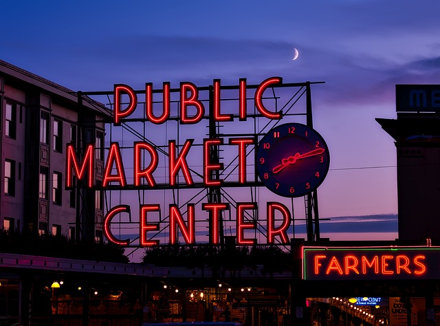 Scene from Pike Place Market