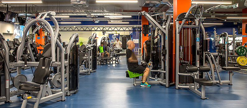 Fitness Hut - Barreiro interior