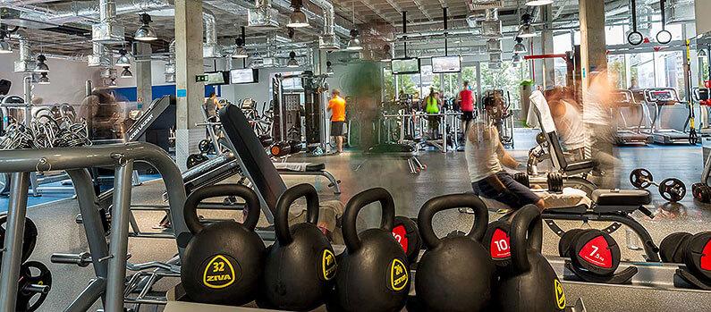 Fitness Hut - Braga facilties