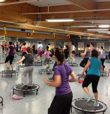 Genae Fitness Club - Bron training area