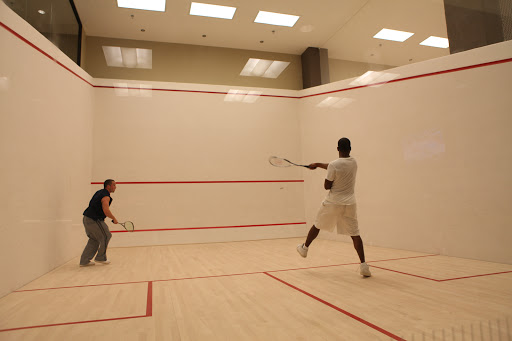Court House Squash & Wellness - Central training area