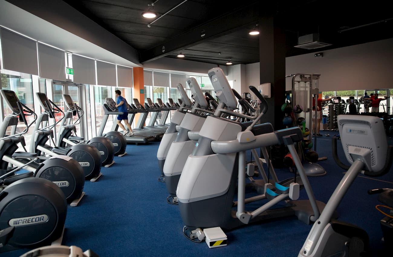 Gym Plus - Cork interior