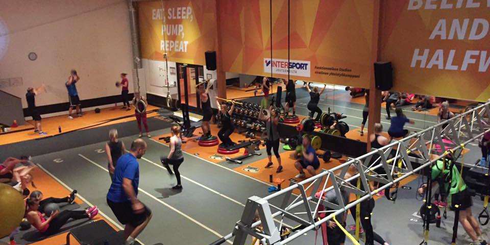 Liikuntakeskus Hukka training area