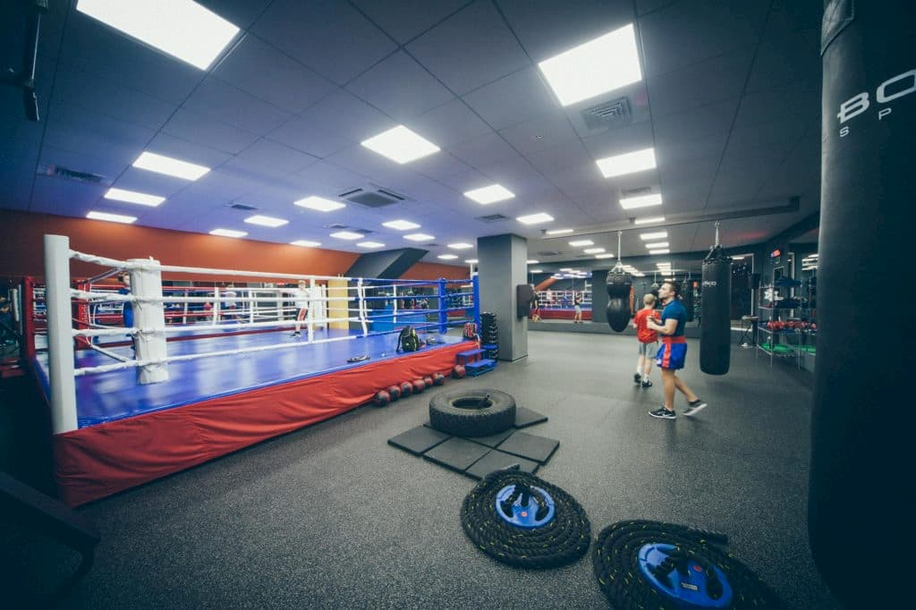 Fitness Stadium Club training area