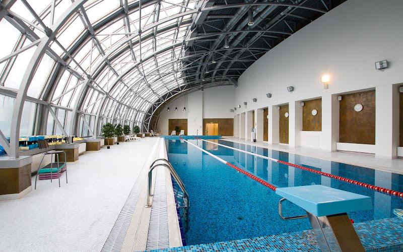 Orange Fitness Paveletskaya interior