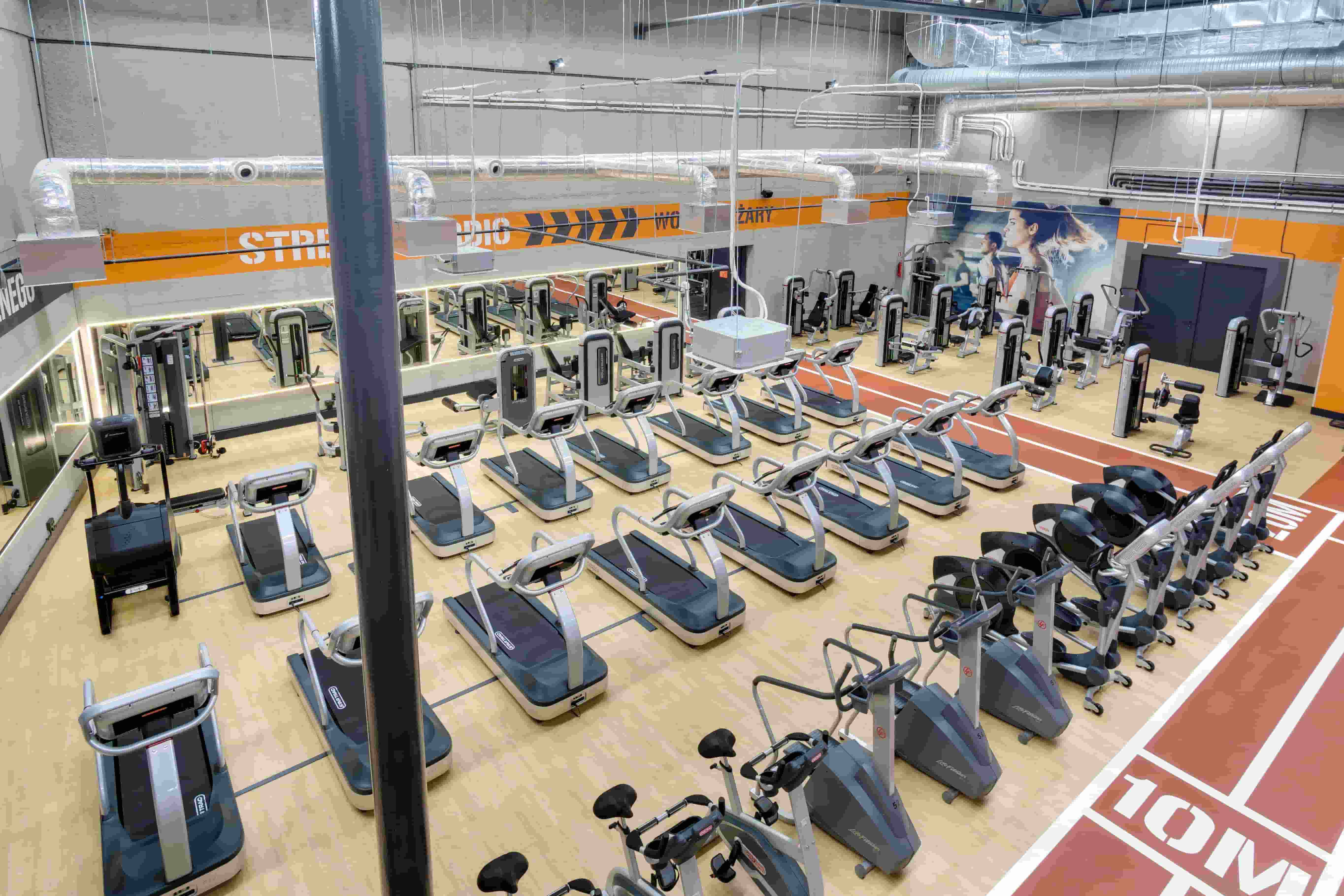 Total Fitness - Wola District interior