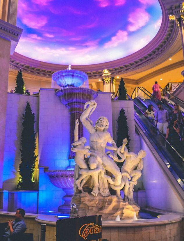 Snapshot of Bellagio Casino Las Vegas