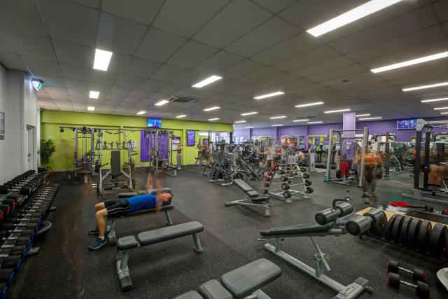 Anytime Fitness South Melbourne training area