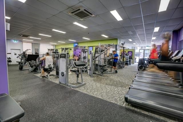 Anytime Fitness South Melbourne facilties