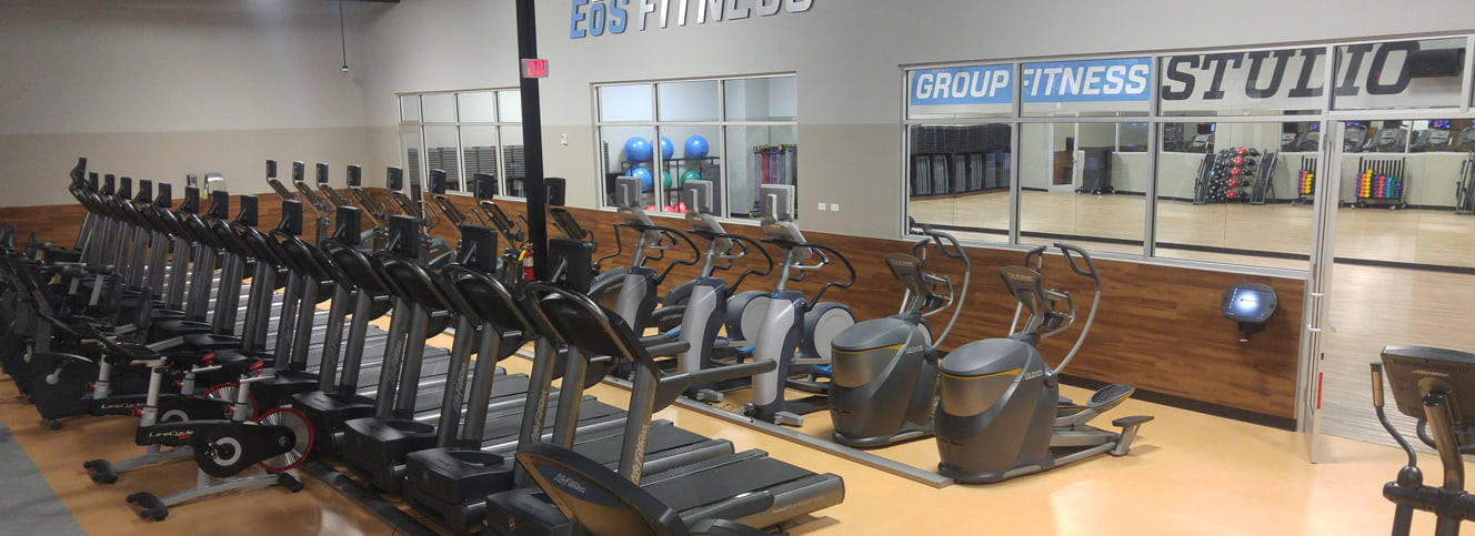 Featured gym: EoS Fitness Sahara  training area