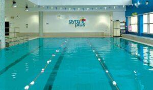 Swimming pool gym plus