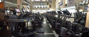 weight training hall