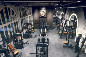 gym machine hall