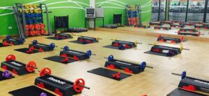 group workout hall