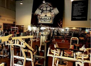 training zone with picture