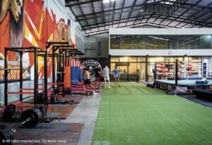 training area